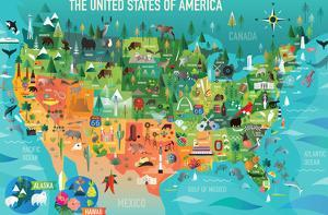 USA Map by Amanda Shufflebotham