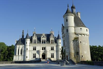 France, Centre, Indre-Et-Loire, Chateau De Chenonceau.