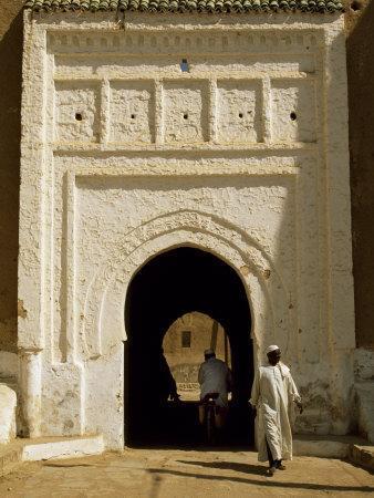 Village Gateway on the 'Circuit Touristique' South of Rissani