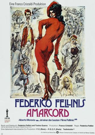 Amarcord, German poster, 1973