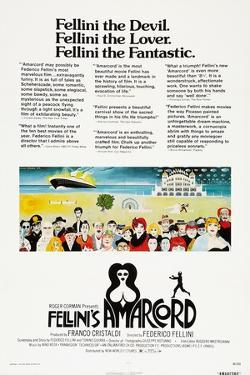Amarcord, US poster, 1973