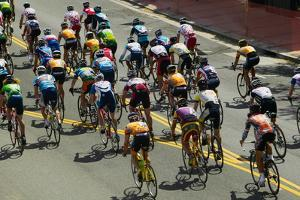Amateur Men Bicyclists competing in the Garrett Lemire Memorial Grand Prix National Racing Circu...