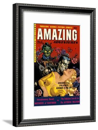 Amazing Adventures--Framed Masterprint