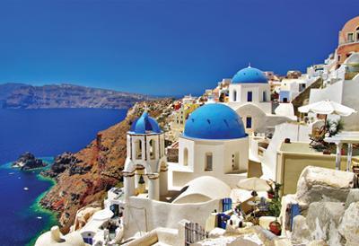 Amazing Santorini - Travel In Greek Islands Series