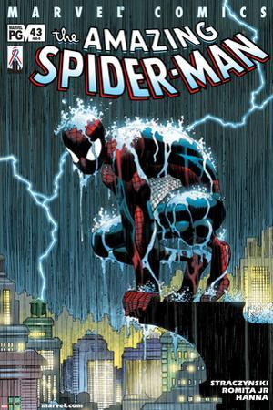 Amazing Spider-Man No.484 Cover: Spider-Man Crouching