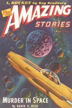 Amazing Stories Magazine Cover