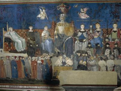 Allegory of Good Government by Ambrogio Lorenzetti