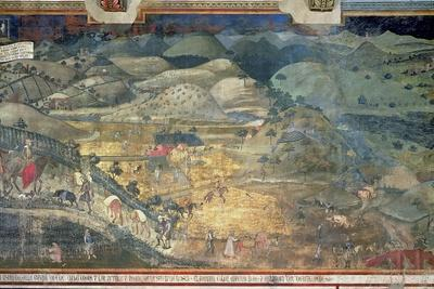 Effects of Good Government in the Countryside, 1388-40