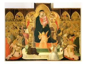 Maesta by Ambrogio Lorenzetti