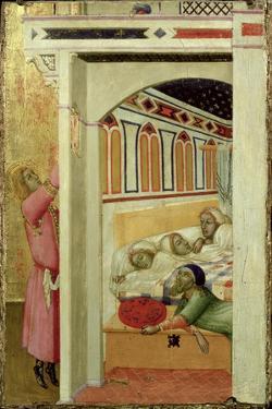 The Charity of St Nicholas of Bari by Ambrogio Lorenzetti