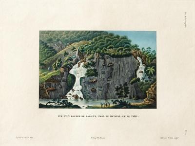 View of a Basalt Rock
