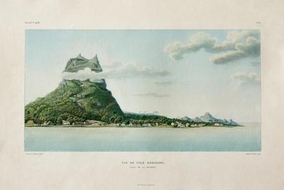 View of the Island of Bora Bora