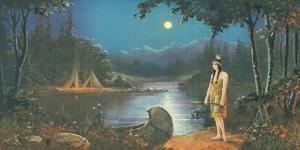 The Tryst, In the Land of Hiawatha by Ambrose Reynaud