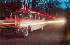 Ambulance with Light Effects, Retro