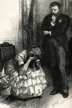 Blind Love, by Wilkie Collins by Amedee Forestier