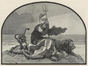 Britannia Mourns by Amedee Forestier