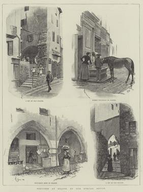 Sketches at Grasse by Amedee Forestier