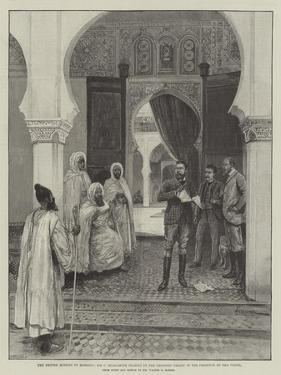 The British Mission to Morocco by Amedee Forestier