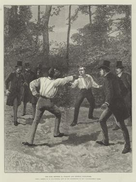 The Duel Between M Floquet and General Boulanger by Amedee Forestier
