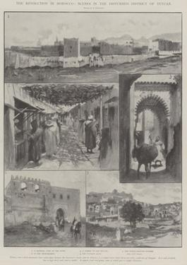 The Revolution in Morocco, Scenes in the Disturbed District of Tetuan by Amedee Forestier