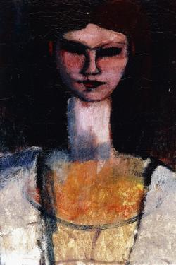 Bust of a Young Woman; Buste De Jeune Femme, C.1910-11 by Amedeo Modigliani