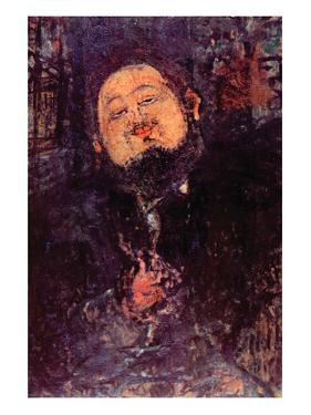 Diego Rivera by Amedeo Modigliani