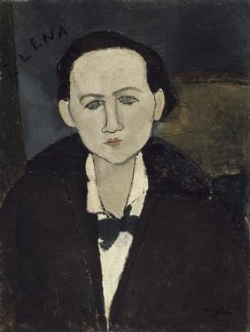 Elena Pawlowski by Amedeo Modigliani