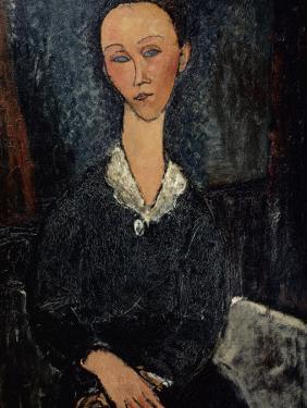 Femme au col blanc by Amedeo Modigliani