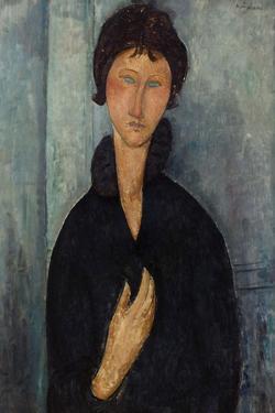Femme aux yeux bleus by Amedeo Modigliani
