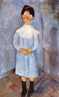 Girl in Blue, 1918 by Amedeo Modigliani