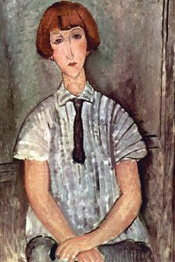 Girl with Blouse by Amedeo Modigliani