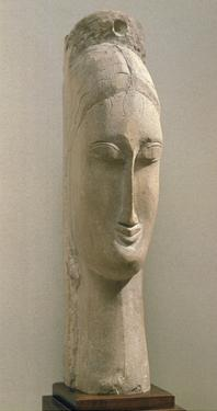 Head of a Woman (Stone) by Amedeo Modigliani
