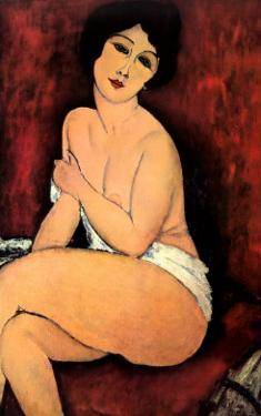 La Belle Romaine by Amedeo Modigliani