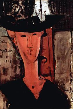 Lady with Hat by Amedeo Modigliani