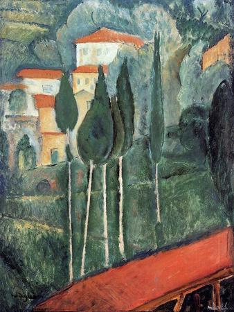 Landscape, South of France, 1919