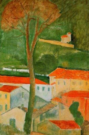 Landscape by Amedeo Modigliani