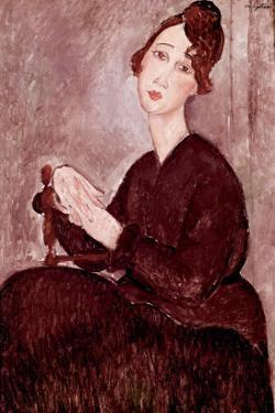 Madame Dedie by Amedeo Modigliani