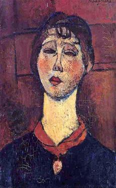 Madame Dorival, 1916 by Amedeo Modigliani