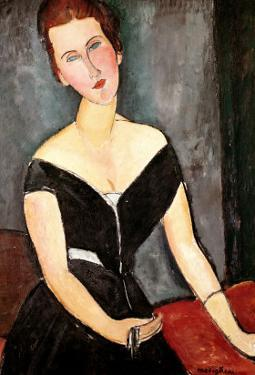 Madame G. Van Muyden, 1917 by Amedeo Modigliani