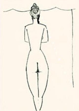 Nu de Femme by Amedeo Modigliani
