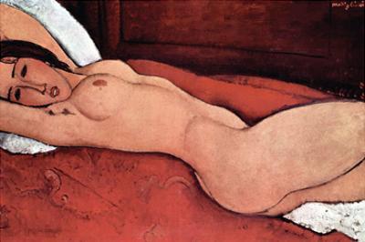 Nude by Amedeo Modigliani