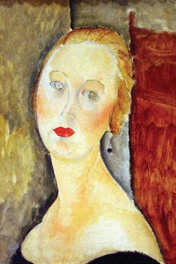 Portrait De Germaine Survage by Amedeo Modigliani