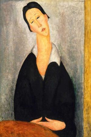 Portrait of a Polish woman by Amedeo Modigliani