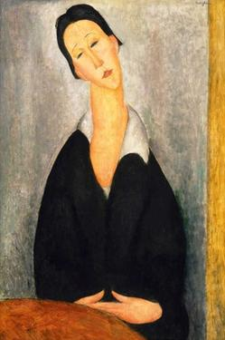 Portrait of a Polish woman by Amedeo Modigliani