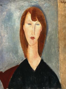 Portrait of an Unknown Model by Amedeo Modigliani
