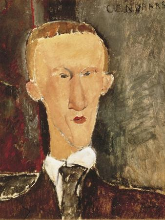 Portrait of Blaise Cendrars by Amedeo Modigliani