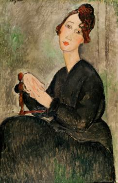 Portrait of Dedie Hayden, 1918 by Amedeo Modigliani