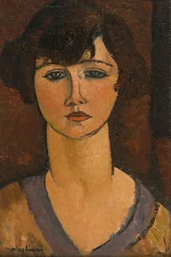 Portrait of Élisabeth Fuss-Amoré by Amedeo Modigliani