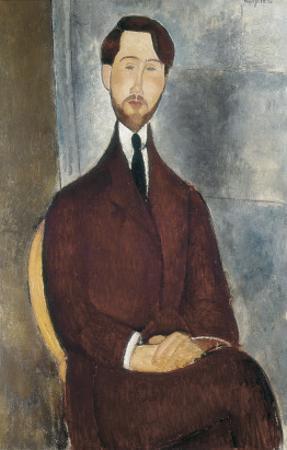 Portrait of Leopoldo Zborowski by Amedeo Modigliani