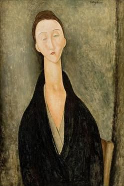 Portrait of Lunia Czechowska by Amedeo Modigliani